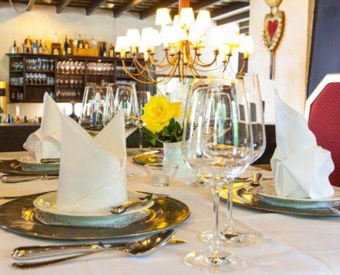 Stilvoll - unser Restaurant